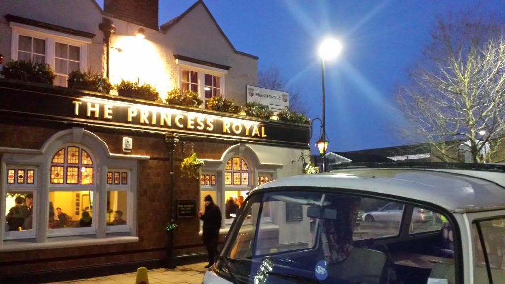 An jeder Ecke des Griffin Parks gibt es ein Pub