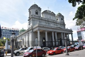 Die Catedral Metropolitana am Parque Central