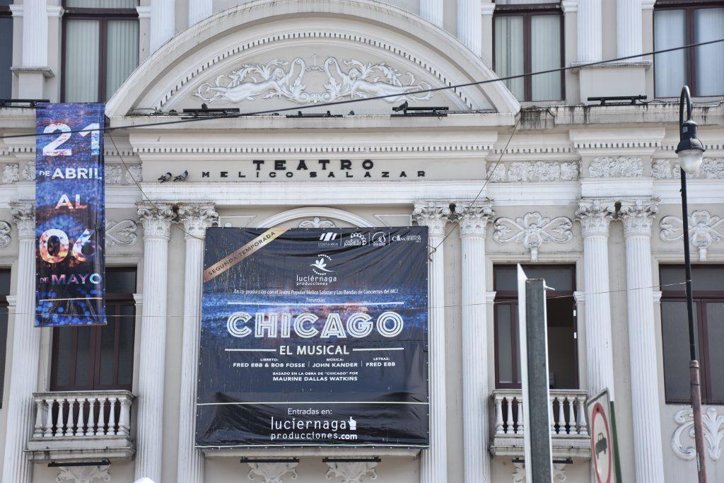 """Aktuell wird """"Chicago"""" aufgeführt"""
