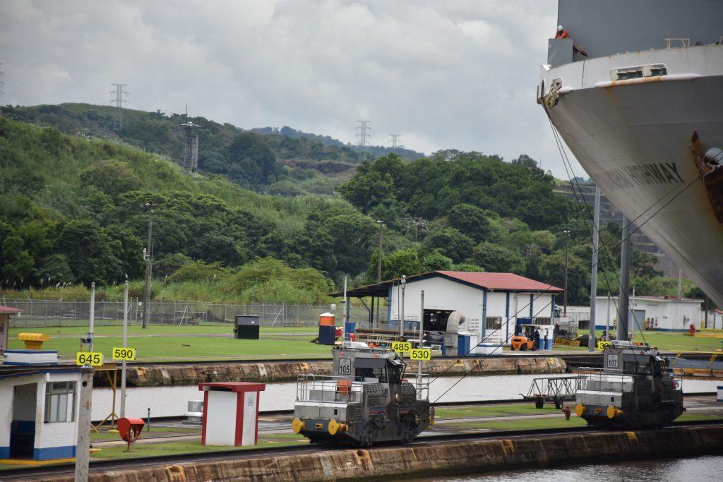 Maßarbeit am Panamakanal