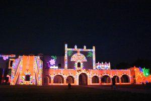 Abschluss Lichtershow Valladolid