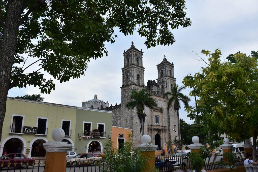 Blick auf die Kirche Valladolid