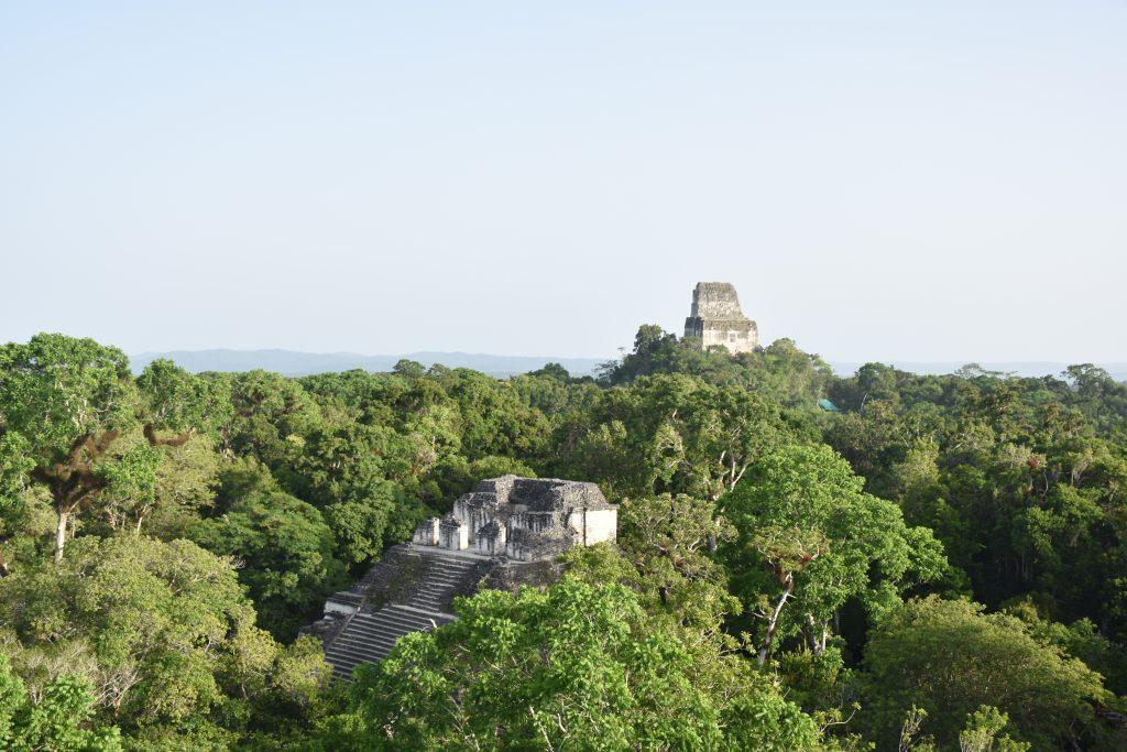 Blick auf weitere Tempel