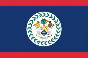 Flagge Belize