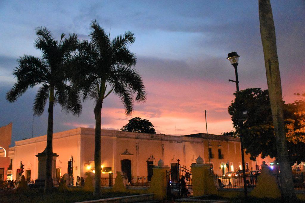 Sonnenuntergang Valladolid