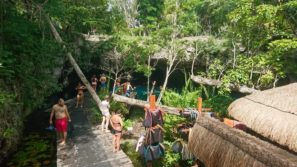 Steg Gran Cenote Tulum