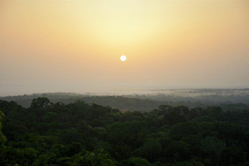Sunrise Tikal