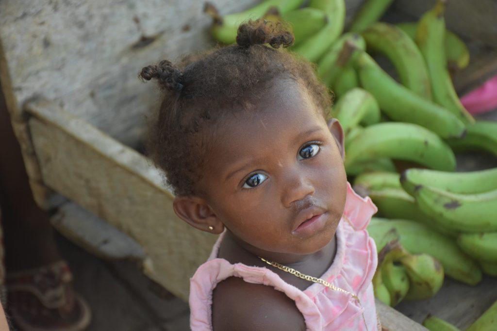Garifunamädchen