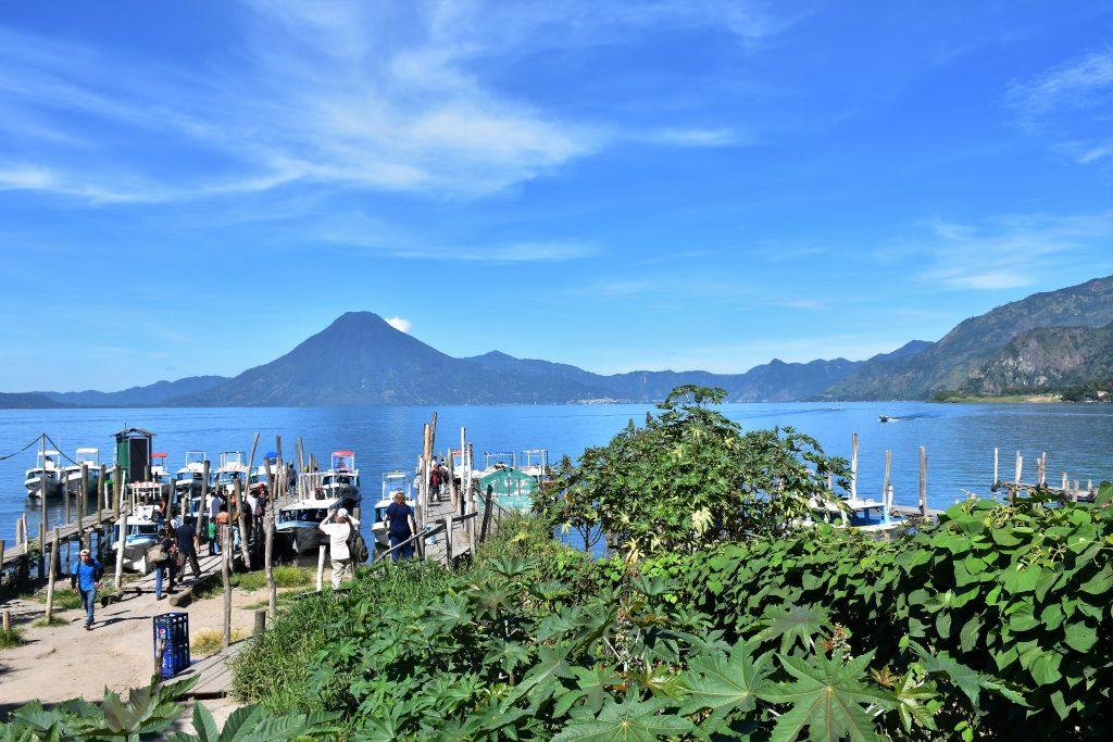 Hafen Lago Atitlan