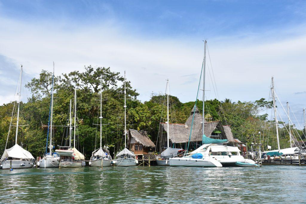 Segelboote Río Dulce