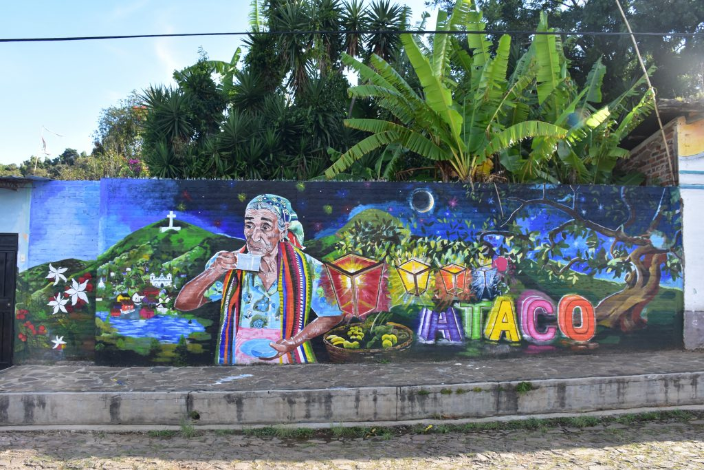 Straßenkunst Ataco