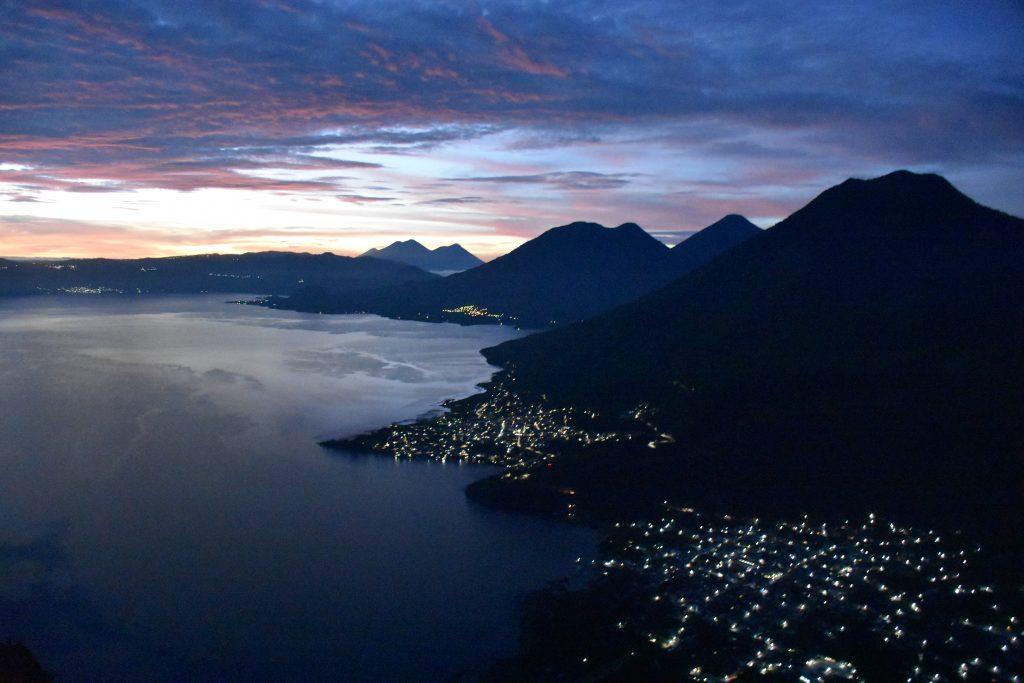 Sunrise Lago Atitlan