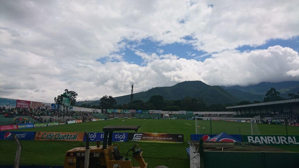 Schöner Ausblick vom Estadio Pensativo