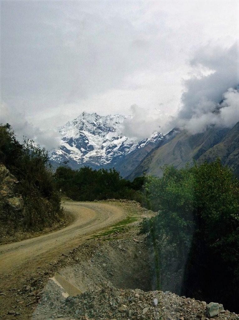 Humantay Berge Hinfahrt