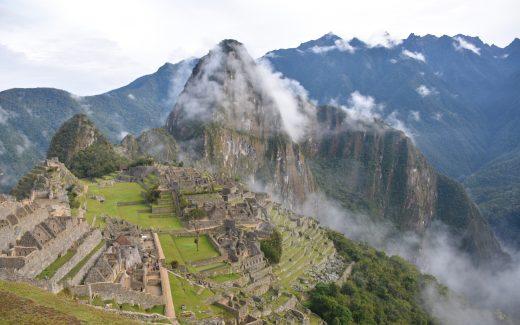Machu Picchu Aussicht