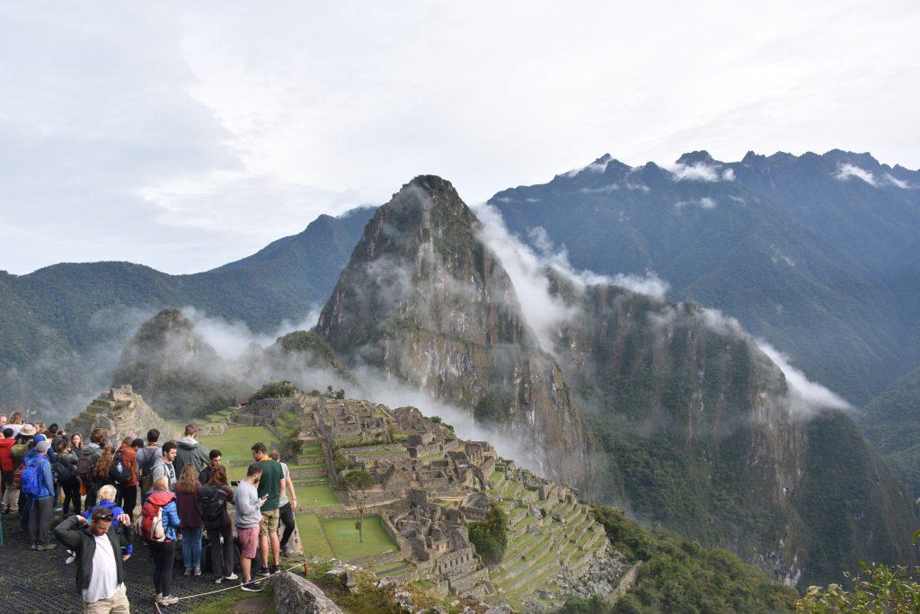 Machu Picchu Plattform