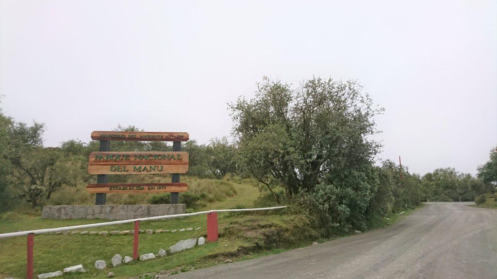 Parque Nacional Manu Eingang