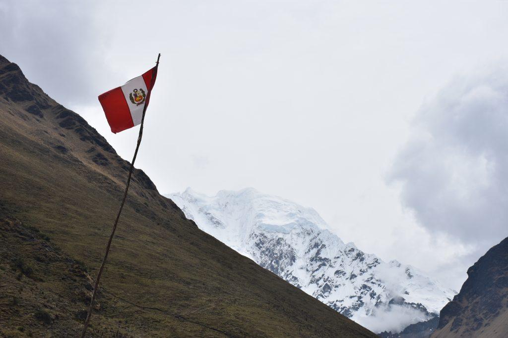 Peru Flagge Humantay