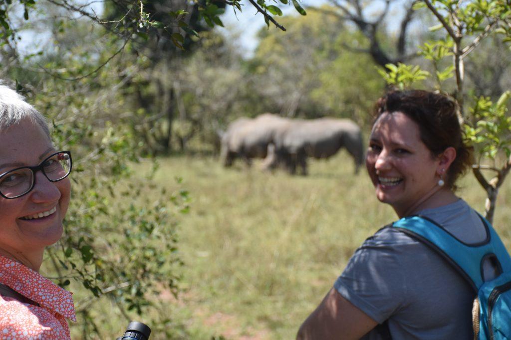 Gisela und Rebecca Rhino