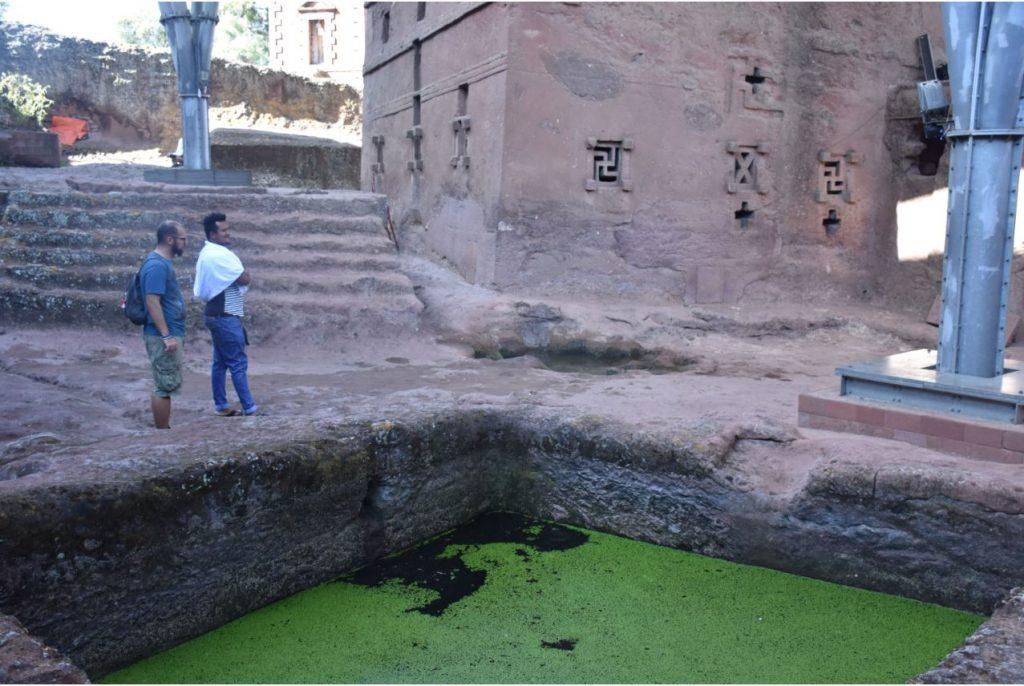 Becken für Unfruchtbare