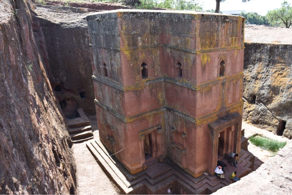 Felsenkirchen von Lalibela Highlight