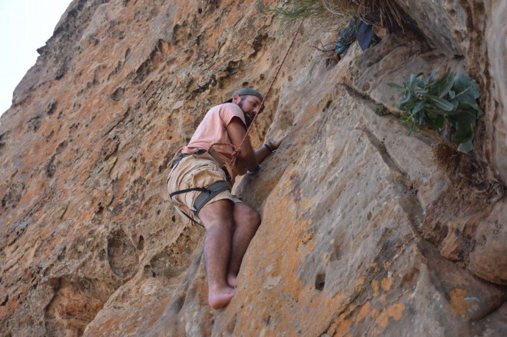 Markus klettert weiter