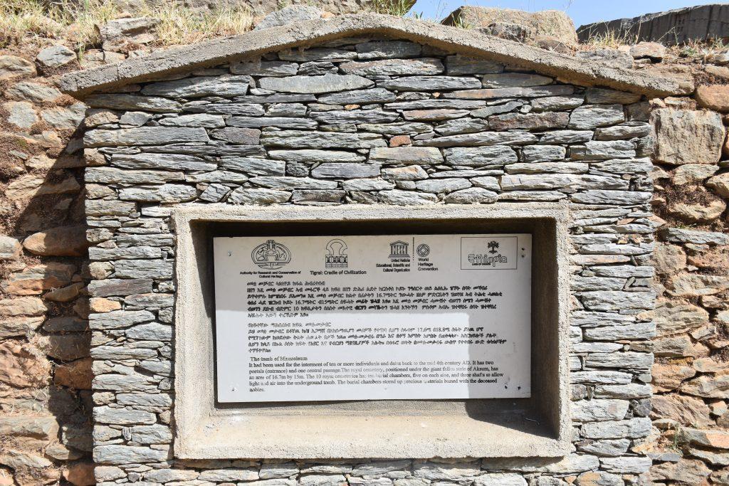 Schild Mausoleum