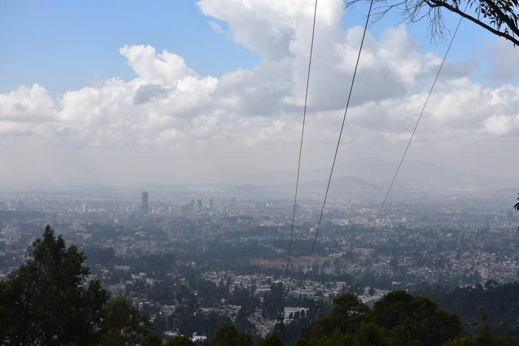 Sehenswürdigkeiten von Addis Abeba Blick vom Entoto