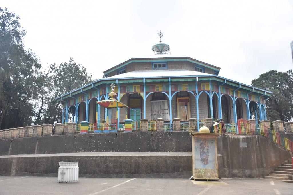 Sehenswürdigkeiten von Addis Abeba Entoto Maryam Church