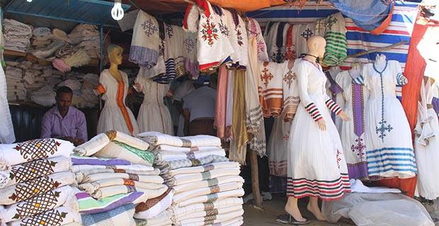Sehenswürdigkeiten von Addis Abeba Shiro Meda Markt