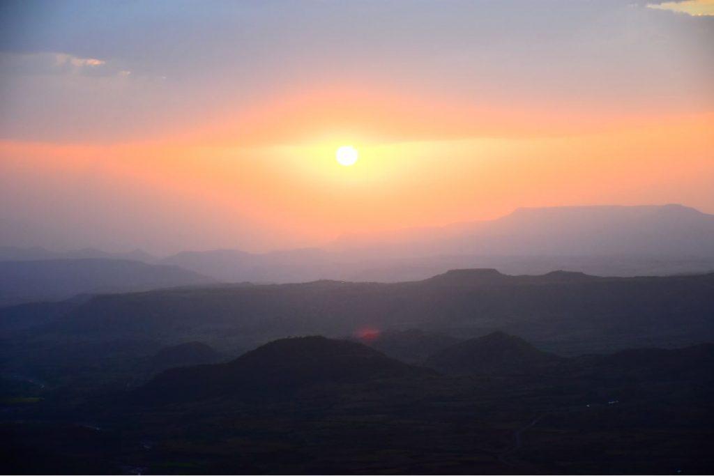 Sonnenuntergang Lalibela