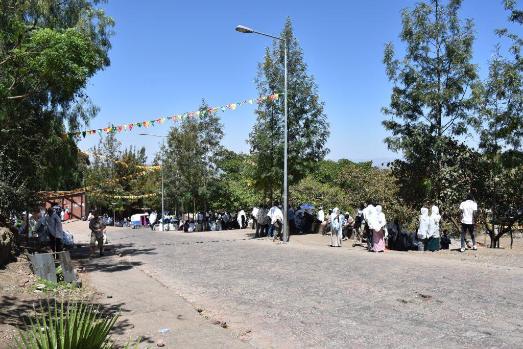 Straßen von Lalibela