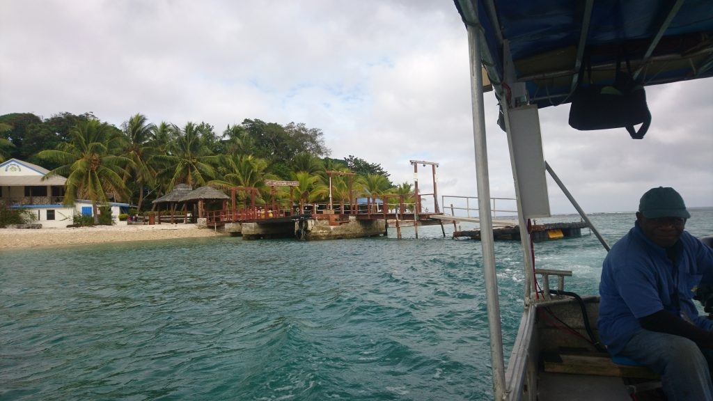 Per Boot nach Hideaway