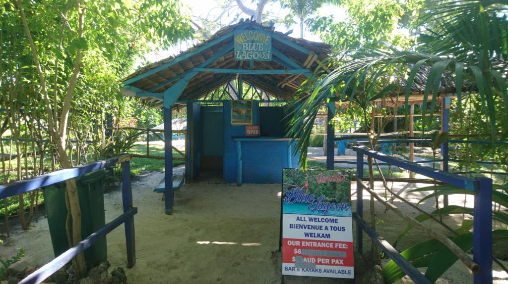Eingang Blue Lagoon