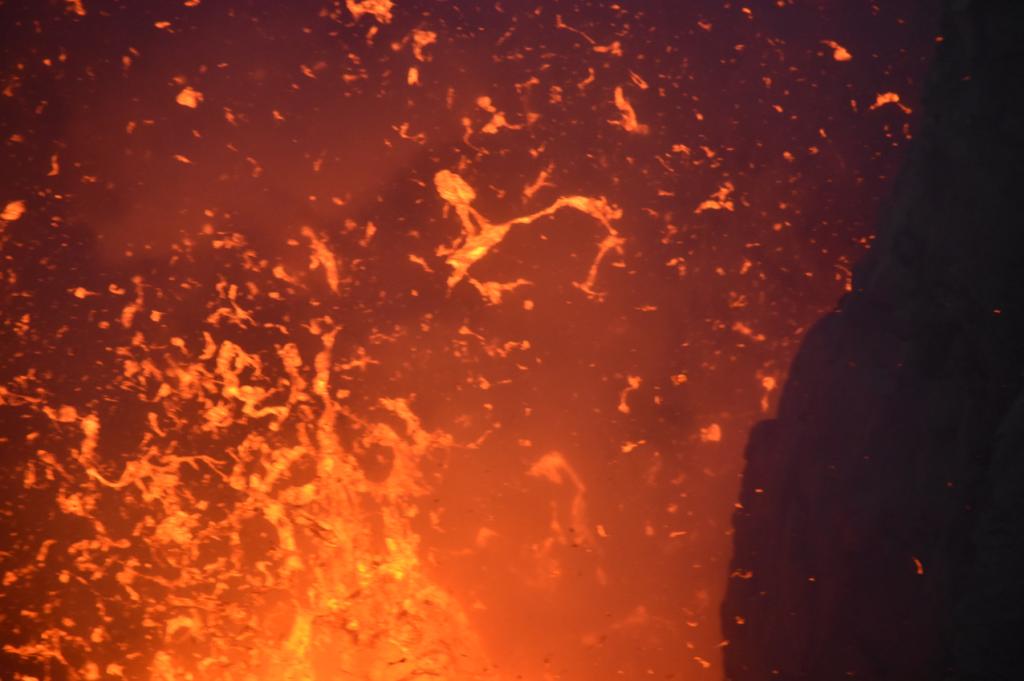 Explosion Lava Vulkan Tanna