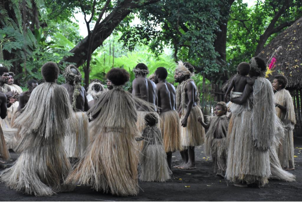 Tanna tribe dancing