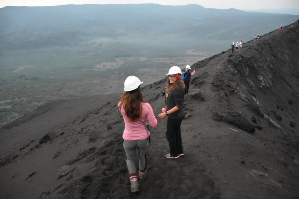 safety first Vulkan Yasur auf Tanna