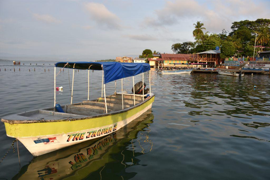 Das hosteleigene Boot