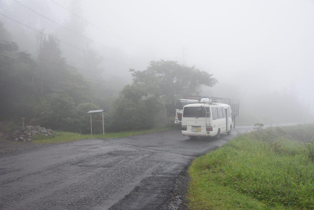 Der lokale Bus zum Lost and Found