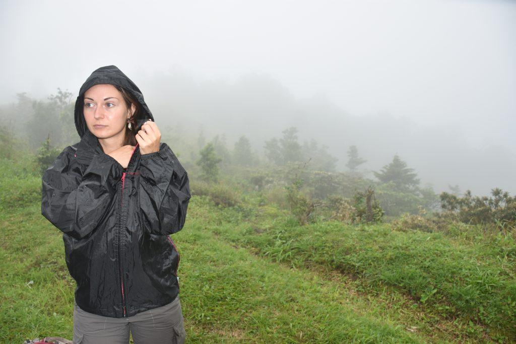 Regen beim Lost and Found