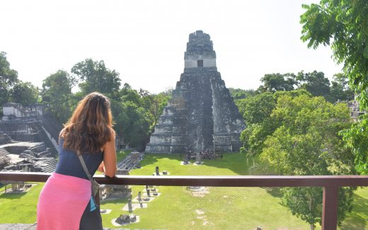 Blick auf Tikal