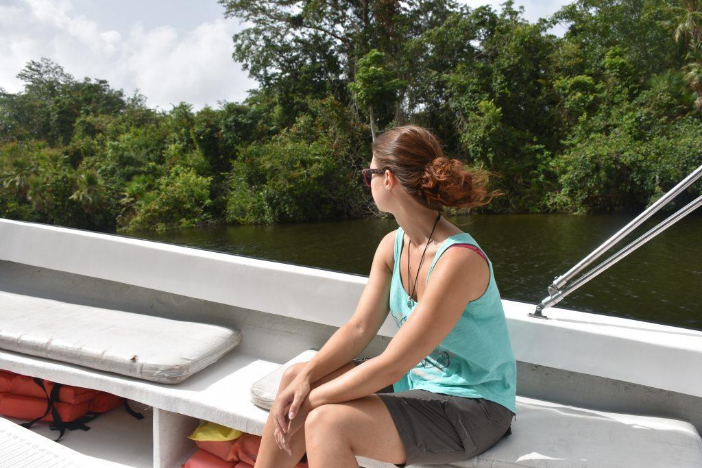 Bootsfahrt Lamanai