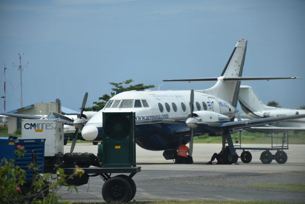 Flugzeug nach La Ceiba