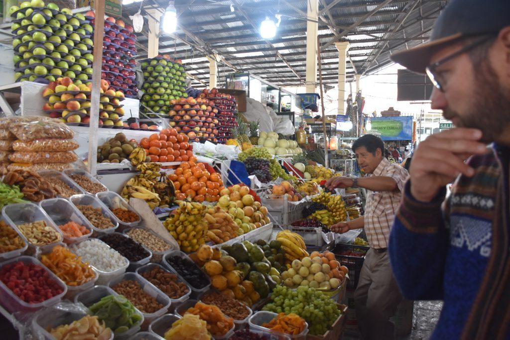 Obst Markt San Pedro