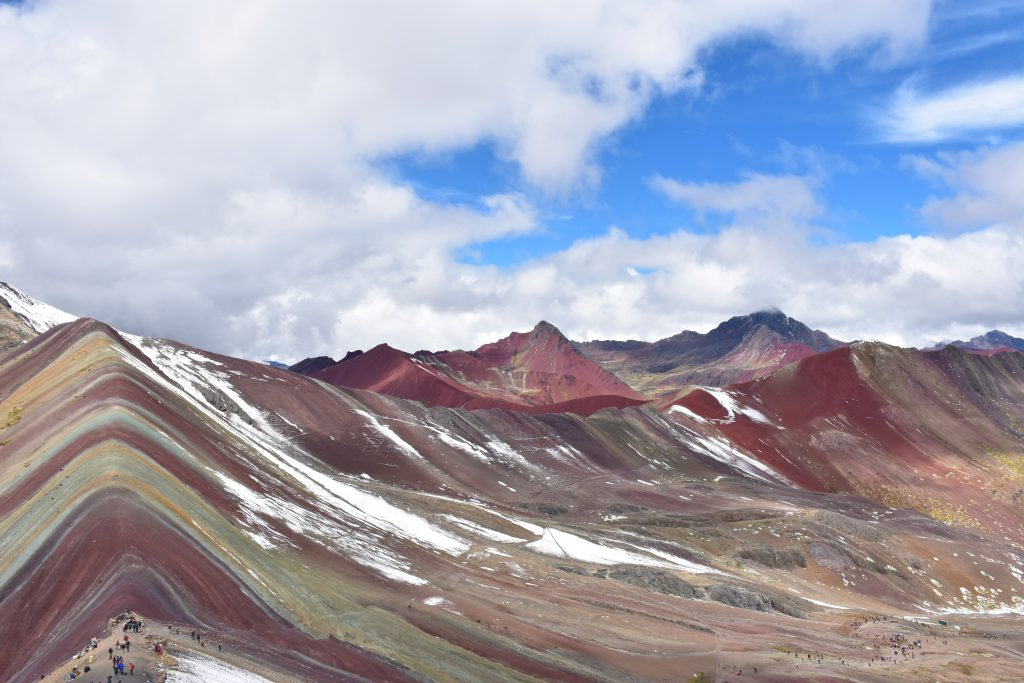 Rainbow Mountains Panorama