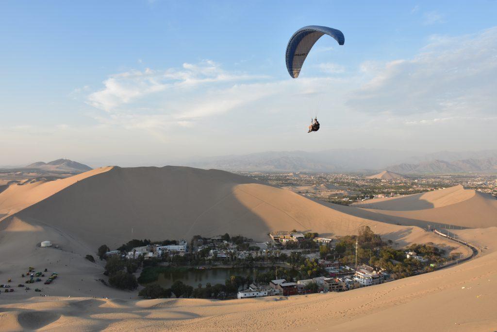 Paraglider Oase