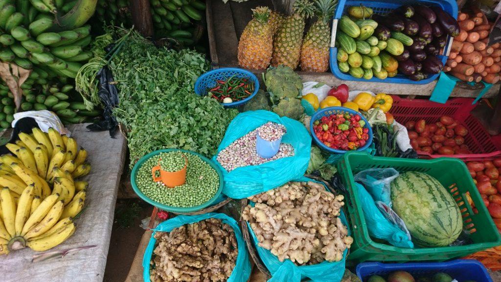 Volunteering in Uganda Markt
