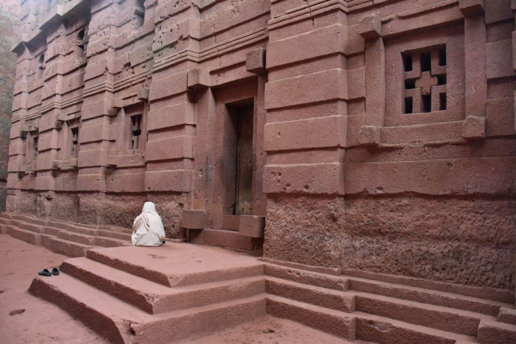 Felsenkirche von Lalibela dritte Gruppe