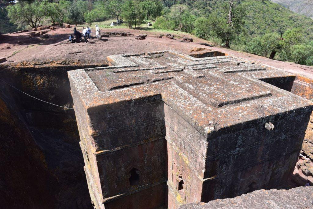 Felsenkirchen von Lalibela Giorgis