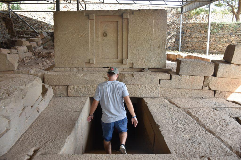 Markus tomb of the false door